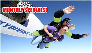 Skydiving in Philadelphia
